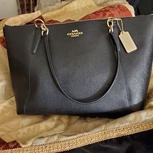 Coach bag black/Leather bag
